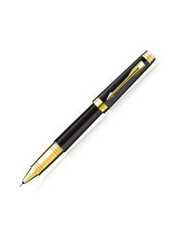 Parker Premium Roller Ball Pen Black Lacquered Gt Premier