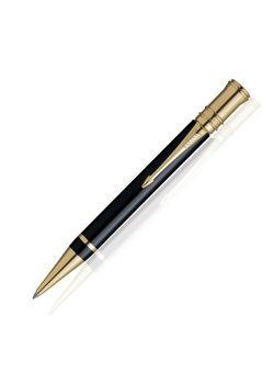 Parker Premium Ball Pen Velvet Black Duofold