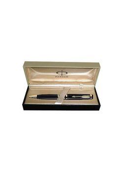 Parker Premium Ball Pen Black Lacquered Gt Ellipse