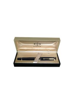 Parker Premium Roller Ball Pen Black Lacquered Gt Ellipse