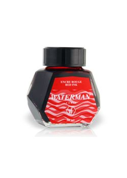Waterman Ink Bottle 50 Ml Red