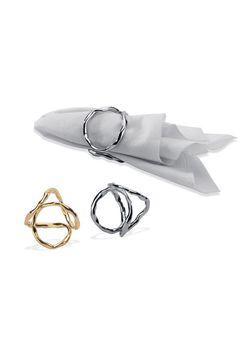 Mukul Goyal Napkin Ring Mg 040