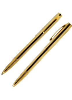 Fisher Space Ball Pen Cap O Matic M4G Lacquer Brass