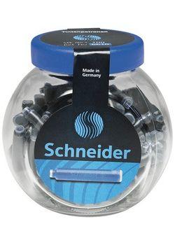 Schneider Ink Cartridge Blue pack of 100