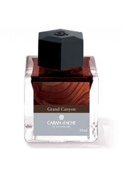 Caran D' Ache Ink Bottle 30 Ml Brown Grand Canyon