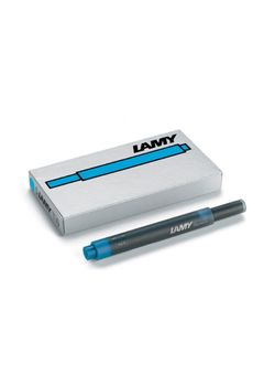 Lamy Ink Cartridge T 10 Turquoise Blue Large