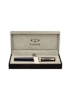 Parker Premium 5Th Generation Pen Glossy Black Gt Ingenuity Fiber Tip - Medium Point