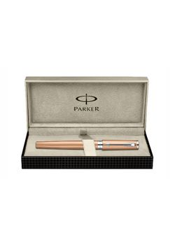 Parker Premium 5Th Generation Pen Pink Gold Ct Ingenuity Fiber Tip - Medium Point