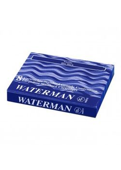 Waterman Ink Cartridge Blue Black