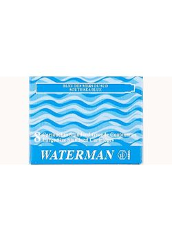 Waterman Ink Cartridge Sea Blue