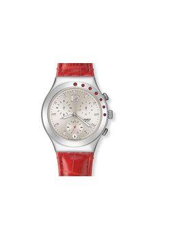 Swatch Ladies Watch Ycs527 Irony