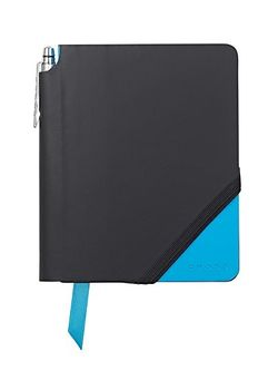 Cross Journal Jotzone AC273-3 Small With Pen Black and Bright Blue