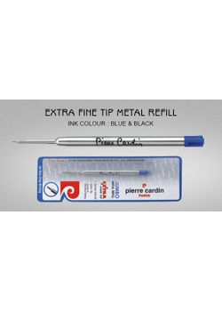 Pierre Cardin Ball Pen Refill Extra Fine Black Refill