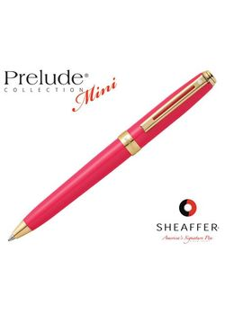 Sheaffer Ball Point Pen Prelude Mini 9809 Gold Trim Pink