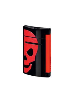 S T Dupont Lighter Minijet 10062 Red Skull