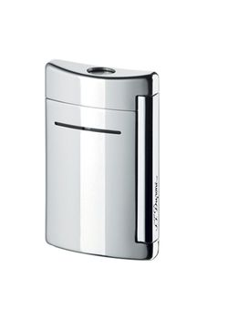 S T Dupont Lighter Minijet 10020 Chrome Grey