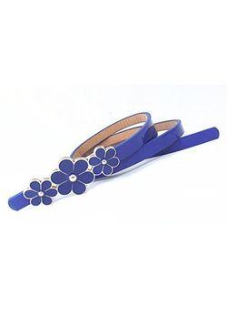 Blue Flower Belt