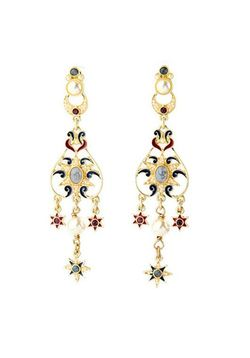 Beaded Palace Earrings