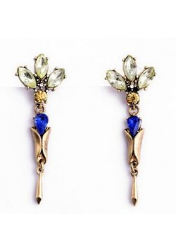 Antique Floral Earrings