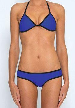 Blue Halter Bikini