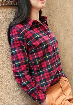 Casual Checkered Shirt