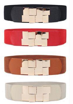 Squares Design Belt
