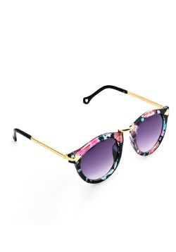 Floral Shaded Sunglasses