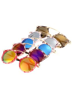 Printed Sweetheart Sunglasses