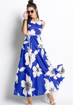 Floral Swing Maxi