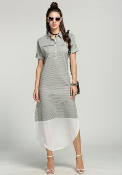 Stripe CollarMaxi