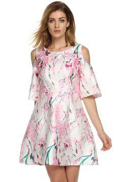 Pink Oriental Dress
