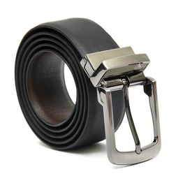 BALI REVERSIBLE LEATHER BELT WITH TURN BUCKLE