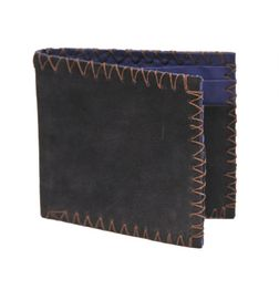 VINTAGE STYLE SUEDE LEATHER WALLET