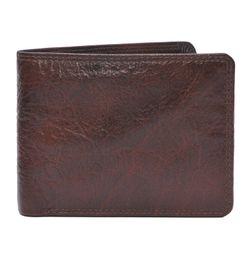HIDEMARK STYLISH BROWN LEATHER WALLET