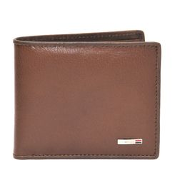 MUNROS MENS BROWN ITALIAN LEATHER WALLET