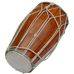 SG Musical Dholak, Mango Wood, Rope-Tuned Free Carry Bag
