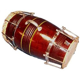 Special Steel Ring Dholak by SG Musical