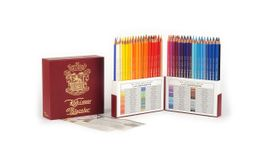 Koh-I-Noor Polycolor Artist's Coloured Pencils - Assorted - Set of 72 in Special Retro Packaging