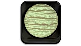 FineTec Mica Based Iridescent Watercolour - Professional Quality - Jade Green - 30 mm Dia Pan