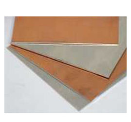 BIMETAL SHEET 1.5 MM * 75MM * 75MM