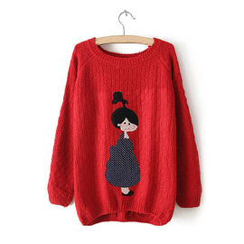 Red Character Sweater