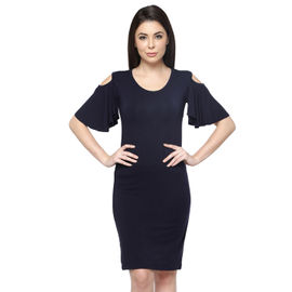 Ashley Flounce Sleeve Dress