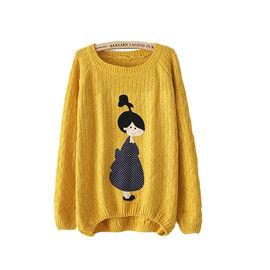 Yellow Character Sweater