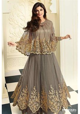 A122 SALWAR.UK  ATTRACTIVE AND STUNNING SHILPA SHETTY DESIGNER OUTFITS