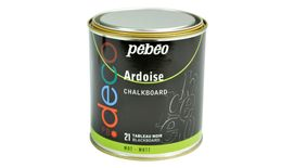Pebeo Deco Chalkboard Black Paint - Tin of 500 ml