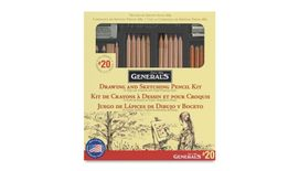 General's Drawing & Sketching Pencil Set - Art Set of 21 Pieces