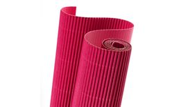 Canson Corrugated Cardboard Paper Roll - 300 GSM, 50 x 70 cm  - Acid Pink