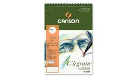Canson C a' grain 180 GSM A3+ Album of 30 Fine Grain Sheets