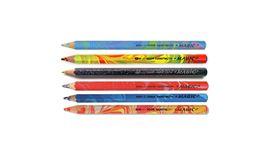 Koh-I-Noor Magic Artist's Multicoloured Pencils - Set of 6 Assorted Colours