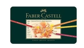 Faber Castell Polychromos Professional Artist Quality Coloured Pencils - Assorted Set of 120